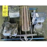 Hoffman Control Panel; Joslyn Clark Disconnect Switch wTemp; Pneumatic Paint Shaker, Fastback Sled
