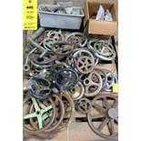 LOT of Misc. Machine Wheel & Lever Handles