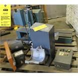 PMC Ind. Contour Reader, Jorgensen Conveyor Motor & Speed Reducer, Midwest Pneumatic Paint Mixer