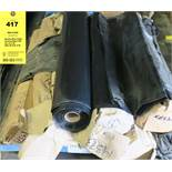 (7) Questar Black Pallet Covering Bags 6 Mil 45 x 44 x 85 (EDL-38) Roll of 20
