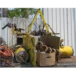"Zimmerman System 36""W x 21""H Clamp Hoist with Spare hoist motor"