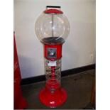 SPEED BALL SPIRAL GLOBE VENDING MACHINE