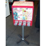 4 SELECT STICKER TATTOO VENDING STAND