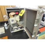 EXAMET UNITRON 81081 MICROSCOPE W/ TRAVEL CASE