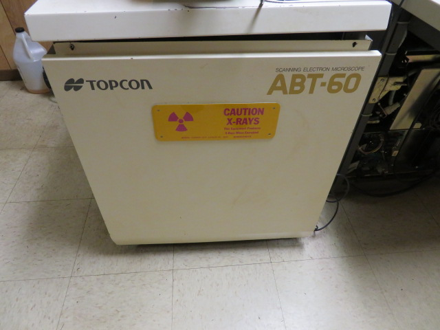TOPCON ABT-60 SCANNING ELECTRON MICROSCOPE, CONTROLLER, PC - Image 3 of 5