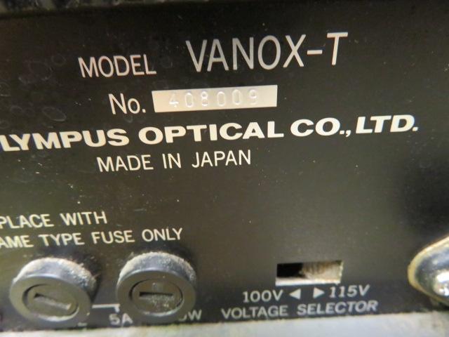 OLYMPUS VANOX-T AH-2 MICROSCOPE DAPO DPLAN W/ OLYMPUS SWHK 10XL - Image 4 of 4