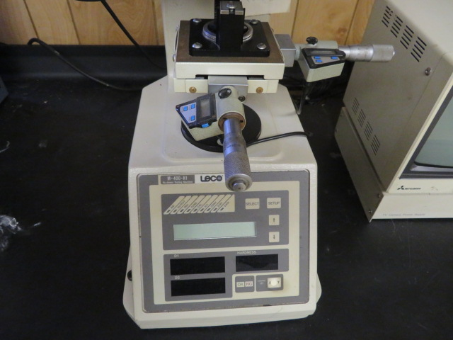 LECO M-400-M1 MICRO HARDNESS TESTER, CODE 810-118A W/ CCTV SYSTEM W/ MONITOR - Image 2 of 4