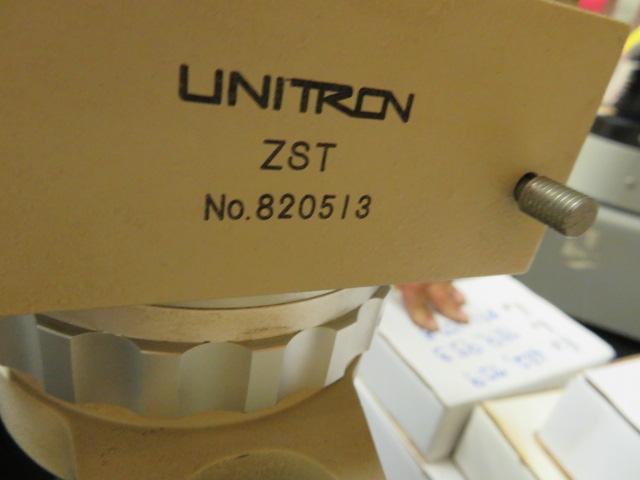 UNITRON ZST MICROSCOPE W/ UNITRON OPTIC - Image 2 of 3