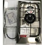 Ex Display Hotpoint G310X Hob Built-in Gas - Stainless Steel