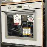 Ex Display Whirpool AKZM 756 WH Built-in Electric Oven - White - RRP£279
