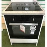Ex Display CDA SK310BL Electric Built in Single Oven & CDA HN6411FR Induction Hob