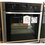 Ex Display Neff B3ACE4HN0B Slide & Hide Built-In Single Oven - Stainless Steel - RRP£599