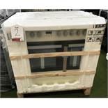 New Teknix TKCF90PCR 90cm Double Oven Ceramic Hob Range Cooker - RRP£599.99