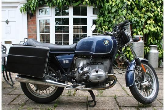 1981 BMW R80/7 800 cc Registration number GNL 4W  Frame number