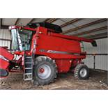 Case IH 2577 Combine, 4WD, 900/60R32 Michelin MegaXbib drive, 18.4-26 rear, rock trap, AFX rotor,