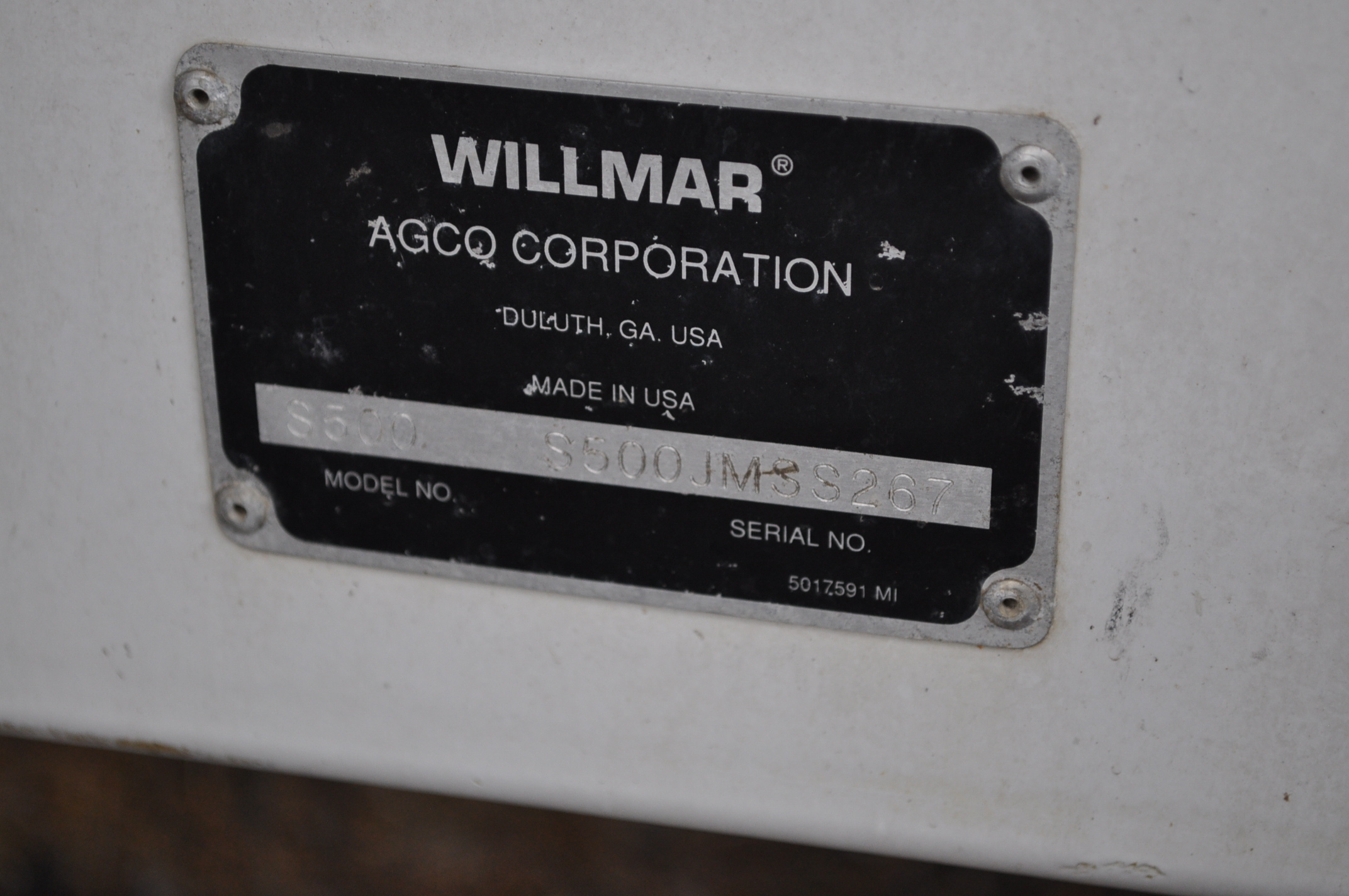Wilmar Super 500 dry fertilizer spreaders, tandem axles, 12.5L-15 tires, twin spreaders, 540 pto - Image 12 of 12