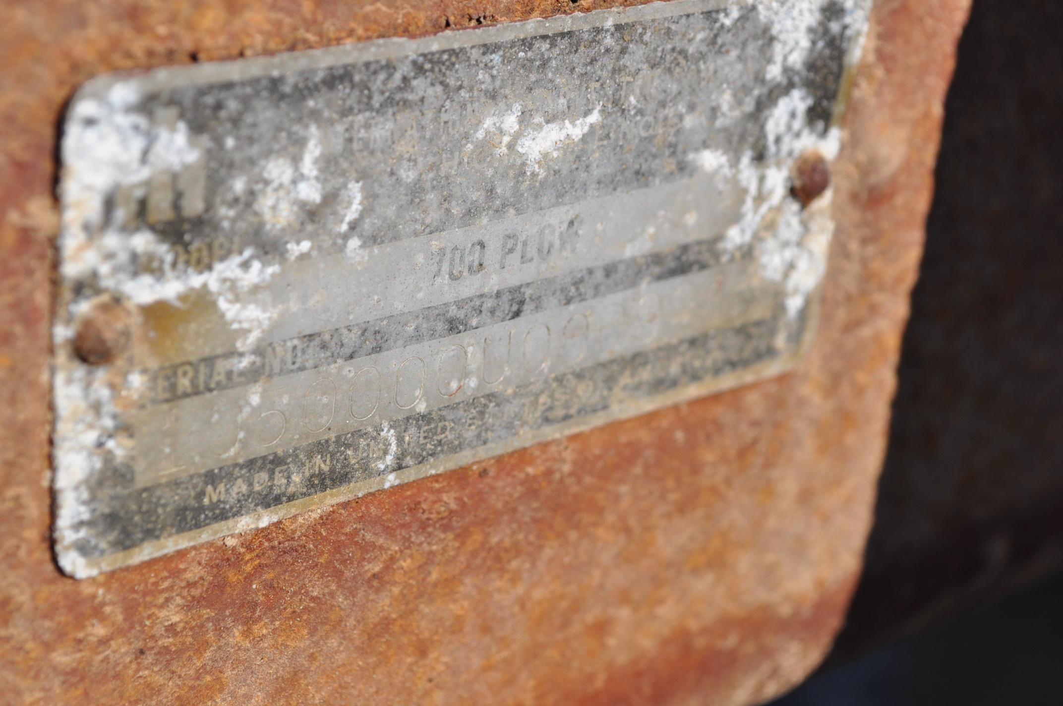 International 700 onland moldboard plow, 7 btm, auto reset trip - Image 16 of 16