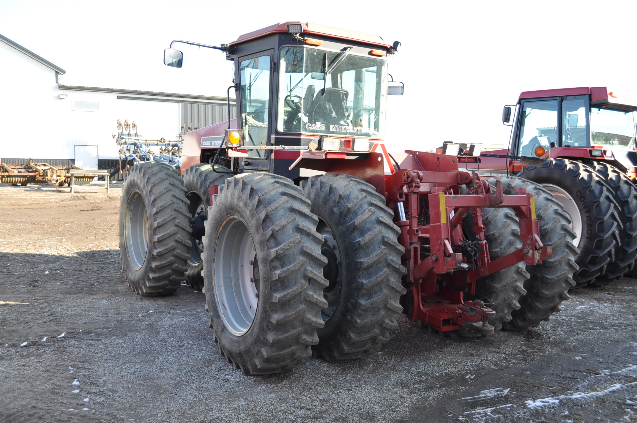 Case IH 9230 4WD tractor, 18.4-38 duals, power shift, skip shift, 4 hyd remotes, 3pt, quick hitch, - Image 3 of 23