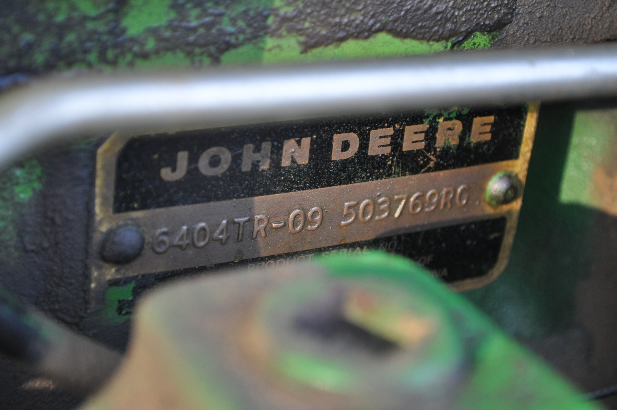 John Deere 4430 tractor, C/H/A, 18.4-38 duals, 11.00-16 front, front weights, Quad range, 2 hyd, 3 - Image 12 of 18