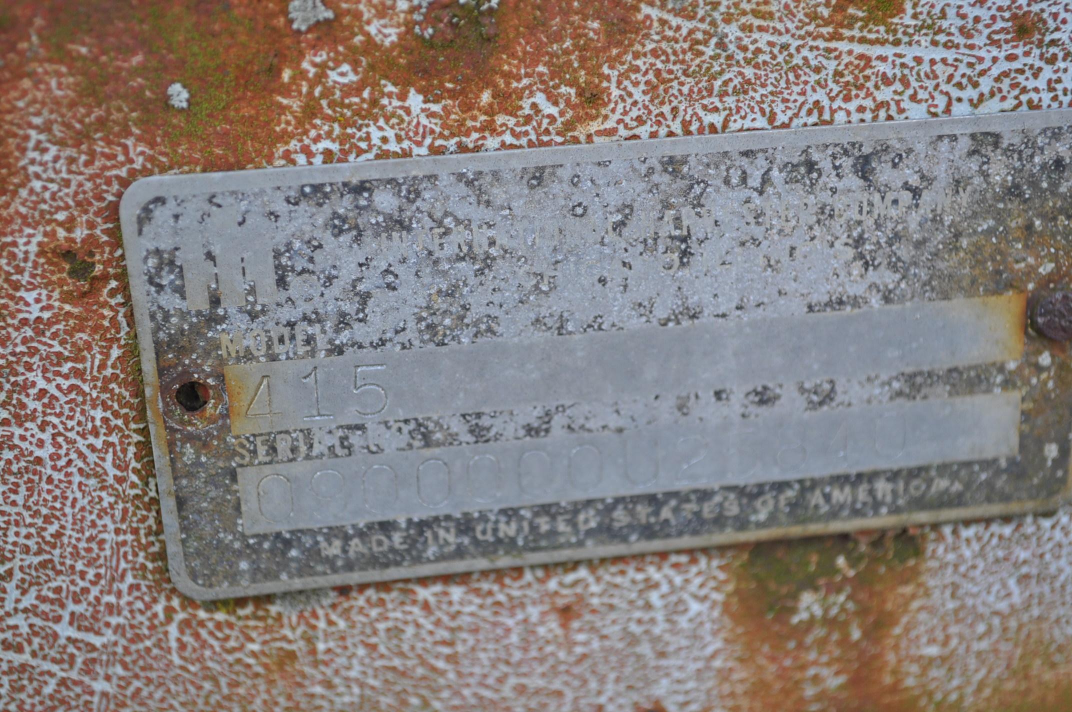 13' International 415 cultimulcher, rear hitch - Image 7 of 10