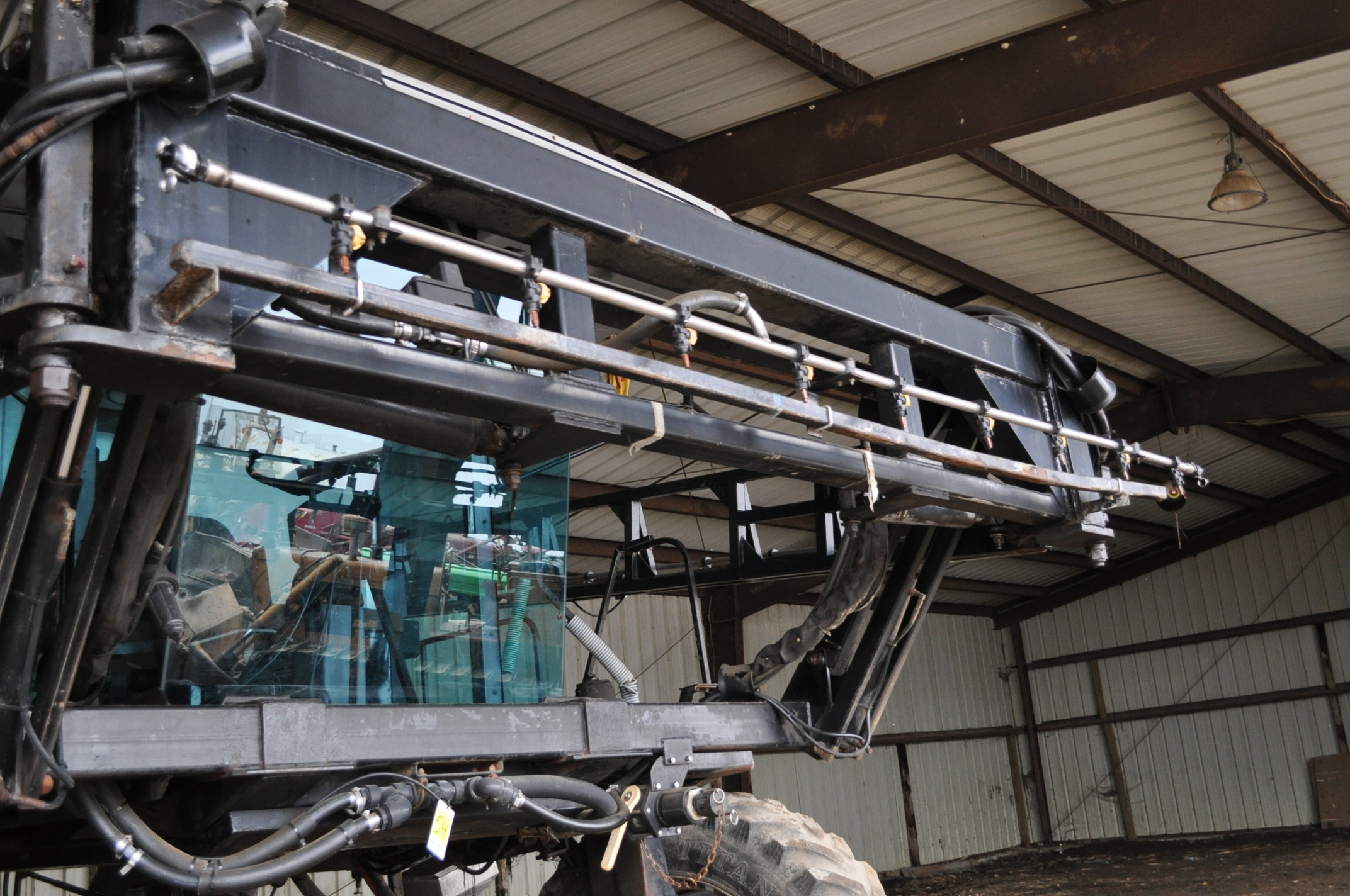 """Silver Wheels Voyager 2000 sprayer, 14.9R46 tires, hydrostatic, 90' boom, 15"""" nozzle spacing, 1000 - Image 11 of 21"""