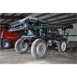 "Silver Wheels Voyager 2000 sprayer, 14.9R46 tires, hydrostatic, 90' boom, 15"" nozzle spacing, 1000"