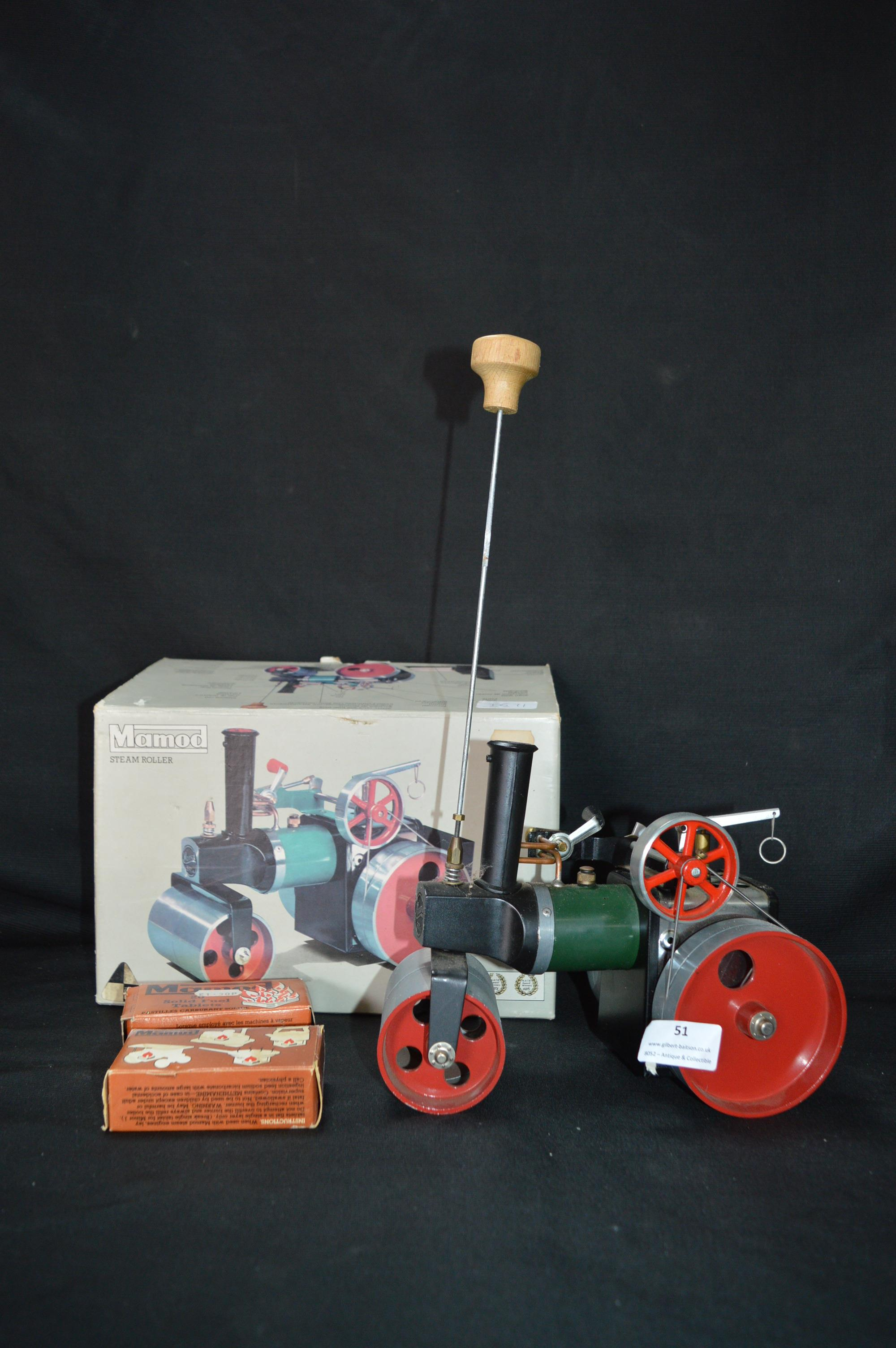 Lot 51 - Mamod Steam Roller (Boxed)