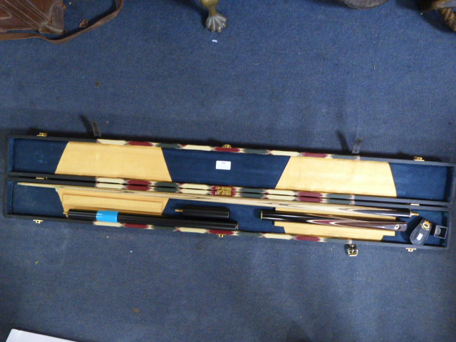 Lot 256 - Boxed Snooker Cue Set...