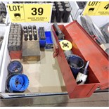 LOT/ ALFA/NUM PUNCH WITH HOLE SAWS