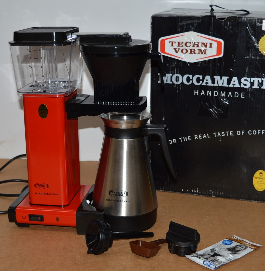 1 X Moccamaster 10 Cup Hand Made Coffee Maker 240v