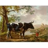 Jan II KobellSüdliche Landschaft mit einem Ochsen
