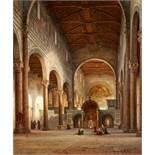 Julius Eduard Wilhelm HelfftInnenansicht der Kirche San Miniato al Monte in Florenz