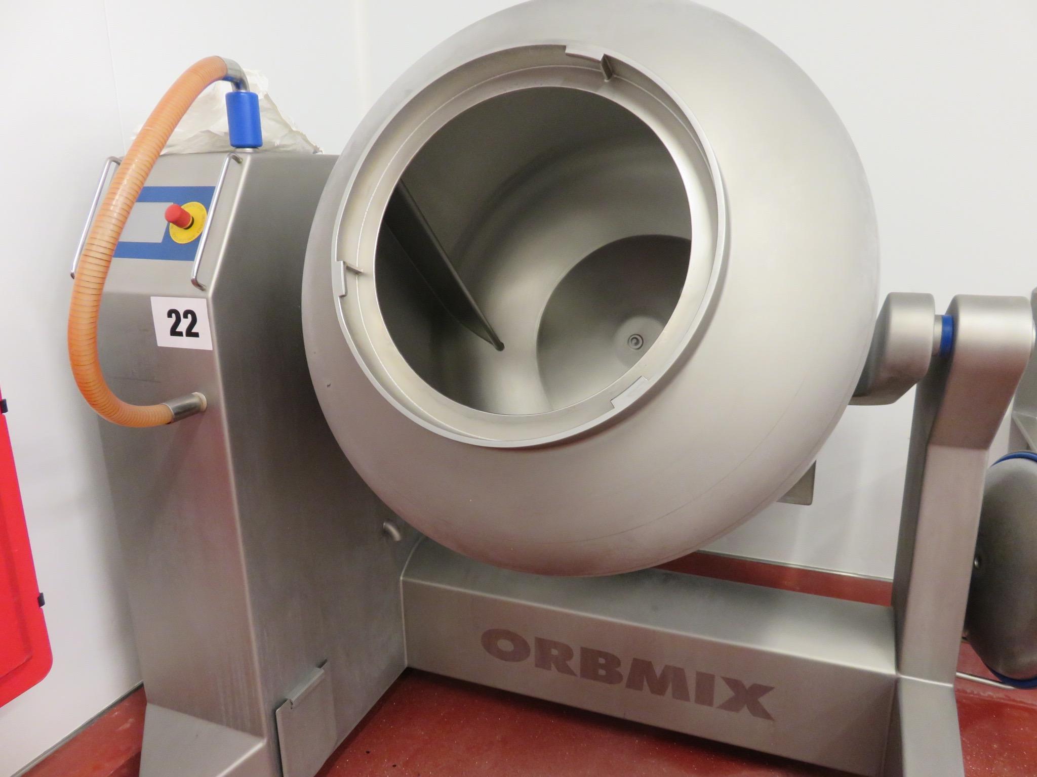Lot 22 - Orbmix tumbler MV600. Lift Out £70