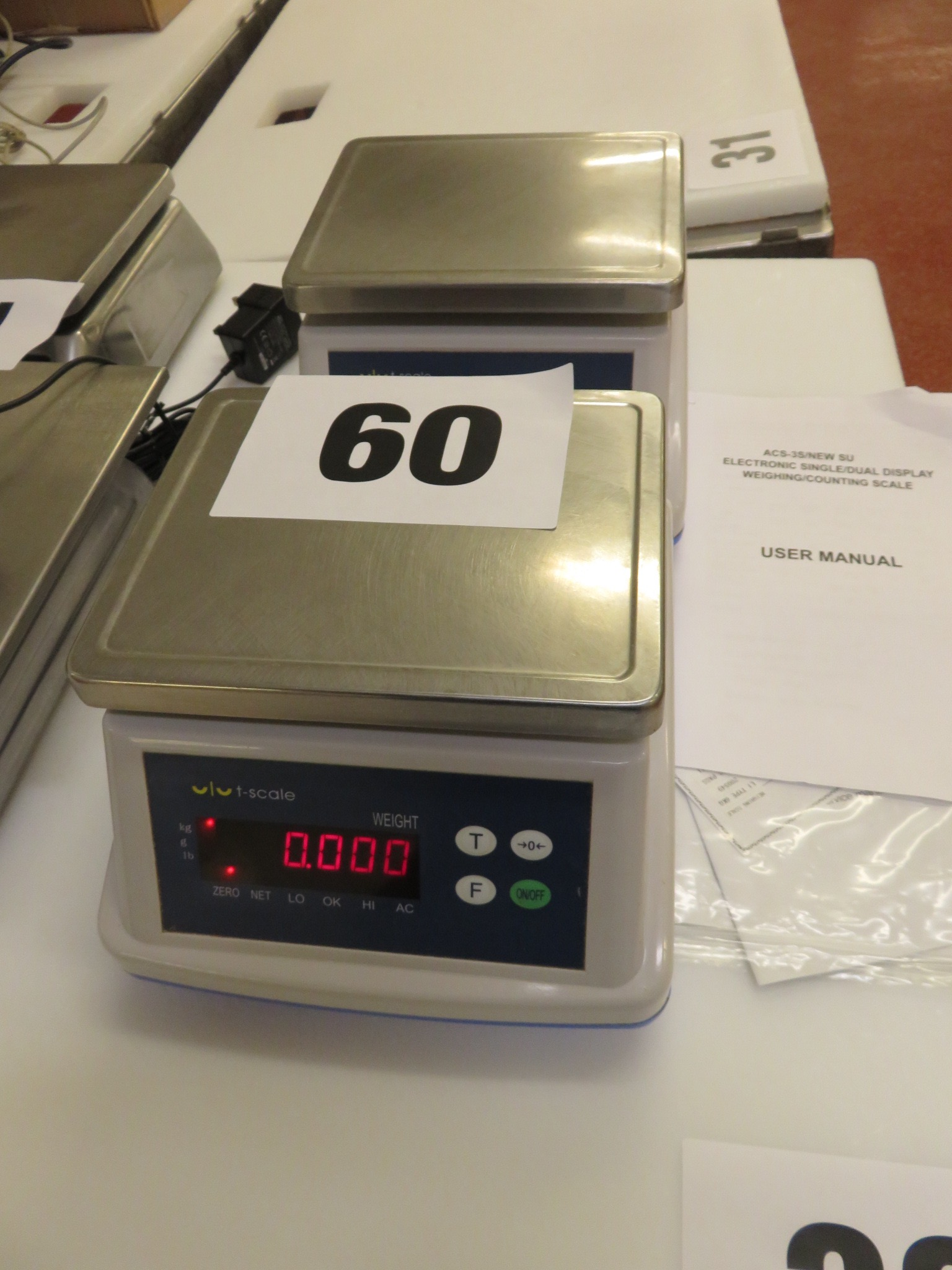 Lot 60 - 2 x DEM Scales. Lift Out £10
