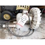 FUJI ELECTRIC REGENERATIVE BLOWER, MODEL VFD42S, 230V/SINGLE PHASE, 60 HZ, 2.8 HP, USED FOR NEON