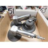 LOT - (2) INGERSOLL-RAND AIR SANDERS, MODEL 214J AND (1) INGERSOLL-RAND AIR SANDER, MODEL 415I