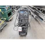 MILLER MILLERMATIC 211 AUTO-SET W/ MVP WIRE WELDER, STOCK NO. 907422, S/N MD252129N, TANK NOT