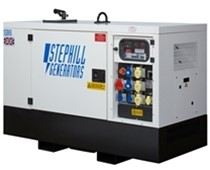Lot 8 - Stephill SSDK12 Generator in Cabinet (20 Hours Running Time)