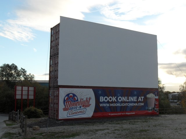 Lot 5 - 40' Hi-Cube Container with Fold Out Cinema Screen - Collection from Scarborough