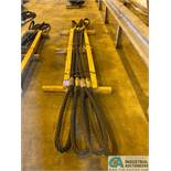 "1-3/4"" X 14' LIFTING CABLES"