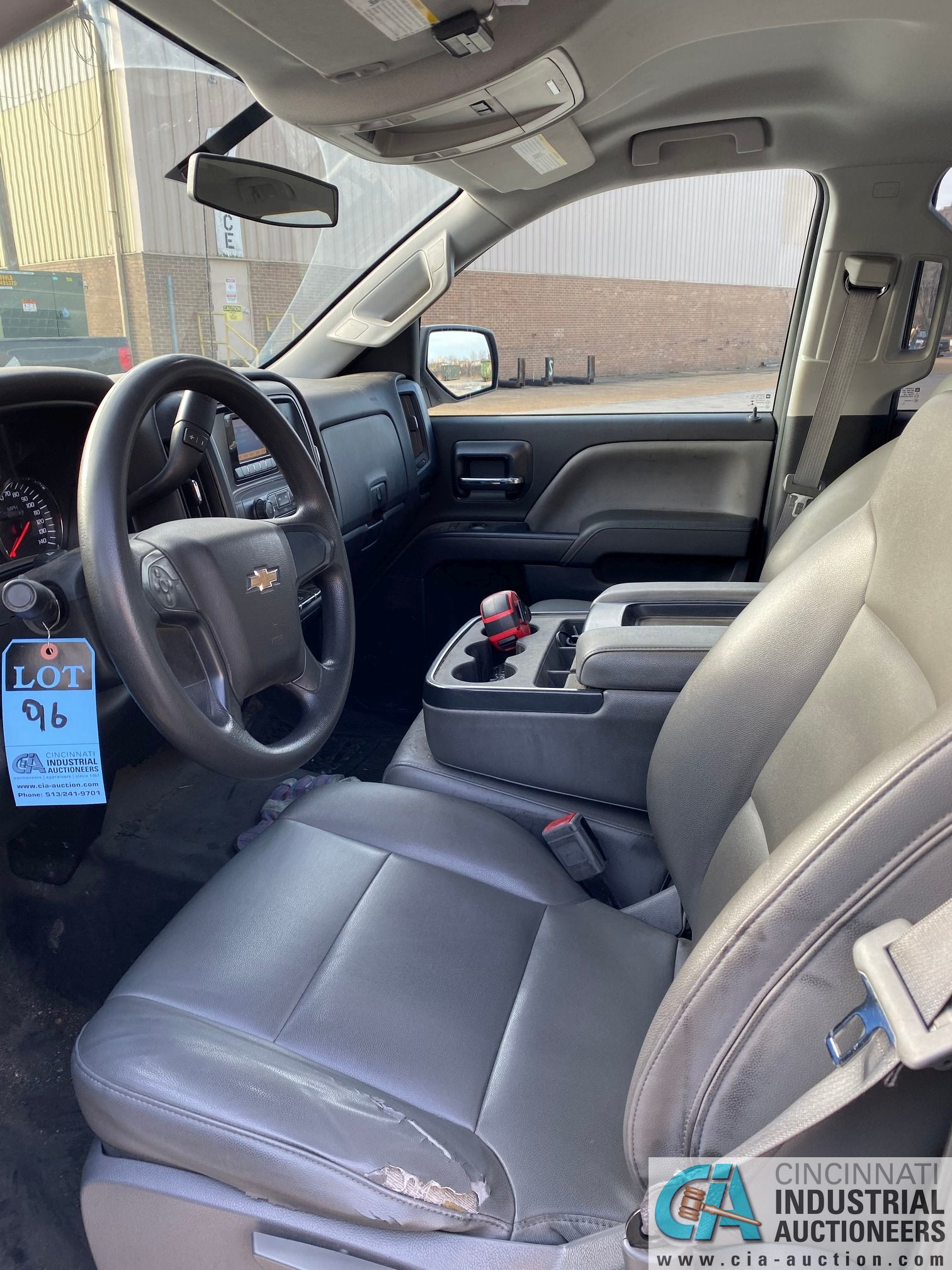 2014 CHEVROLET SILVERADO 1500 PICK UP TRUCK; VIN# 1GCRCPEH1EZ239274, 67,252 MILES SHOWING, 4.3 L, - Image 12 of 13