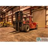 52,000 LB TAYLOR MODEL TE-520M DIESEL PNEUMATIC TIRE LIFT TRUCK; S/N S-W5-2291, 3,567 HOURS SHOWING,