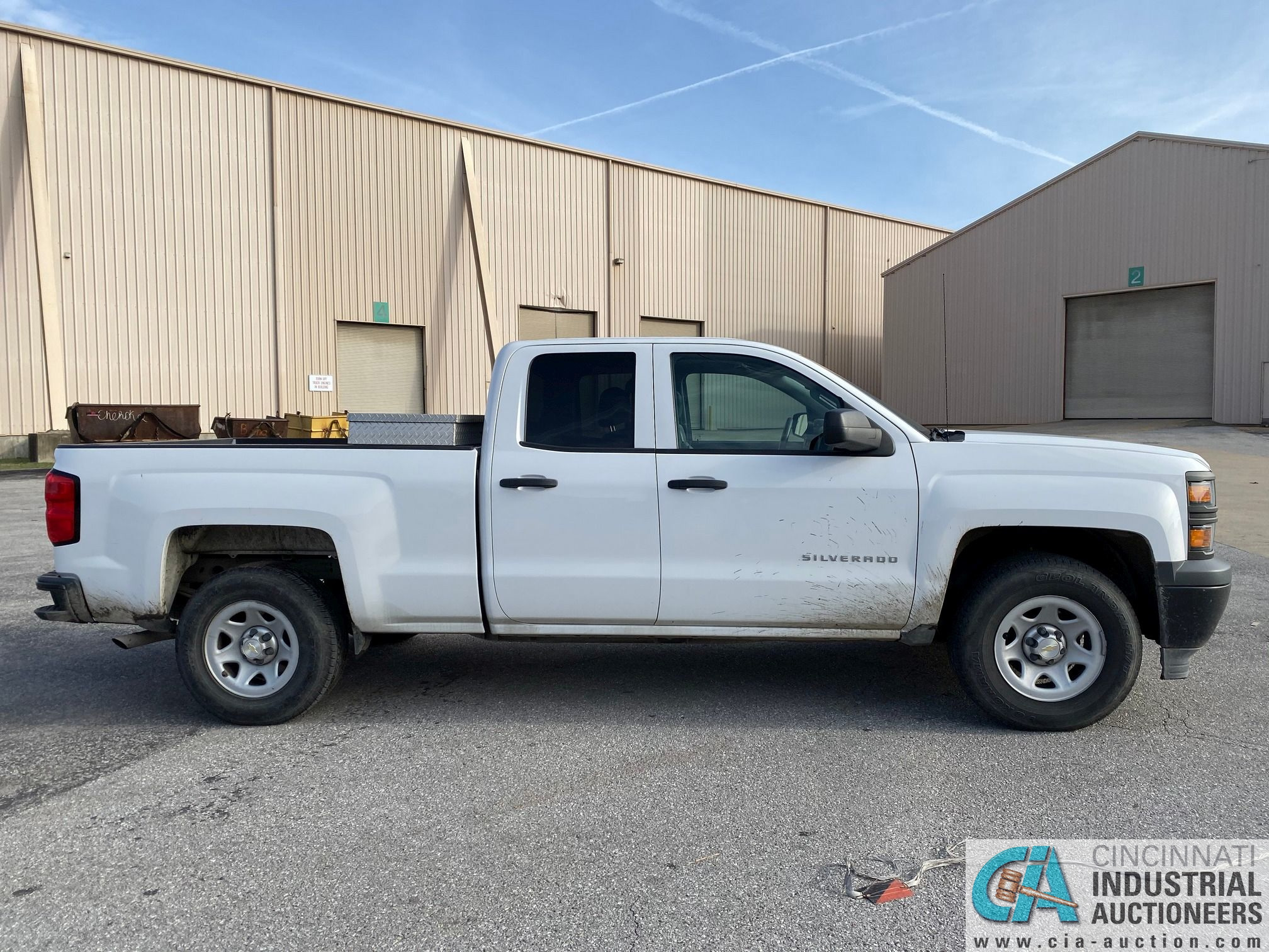 2014 CHEVROLET SILVERADO 1500 PICK UP TRUCK; VIN# 1GCRCPEH1EZ239274, 67,252 MILES SHOWING, 4.3 L, - Image 2 of 13