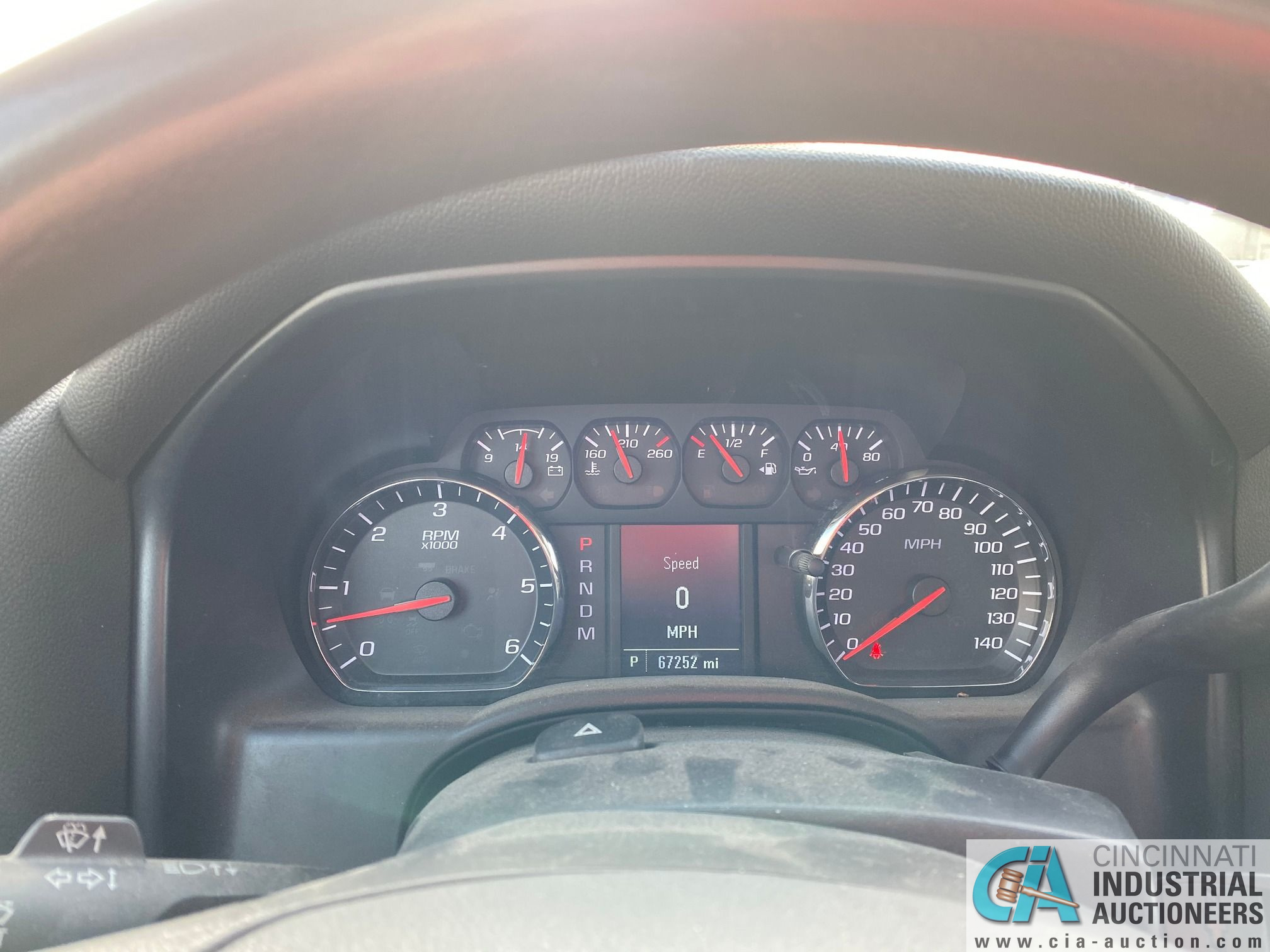 2014 CHEVROLET SILVERADO 1500 PICK UP TRUCK; VIN# 1GCRCPEH1EZ239274, 67,252 MILES SHOWING, 4.3 L, - Image 9 of 13