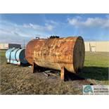 APPROX. 2,000 GAL. WASTE OIL TANK