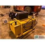 APPROX. 98 GAL. PORTABLE FUEL TANK, BATTERY OPERATED