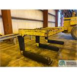 "12 TON X 3-PRONG COIL LIFTER; 48"" FORKS, 110"" OVERALL WIDTH"