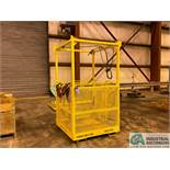 4' X 4' ENGINEERED LIFTING TECHNOLOGIES MODEL CBH0404-1000 PERSONNEL LIFTING SYSTEM; S/N