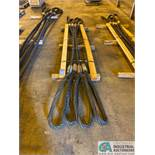 "1-3/4"" X 13' LIFTING CABLES"
