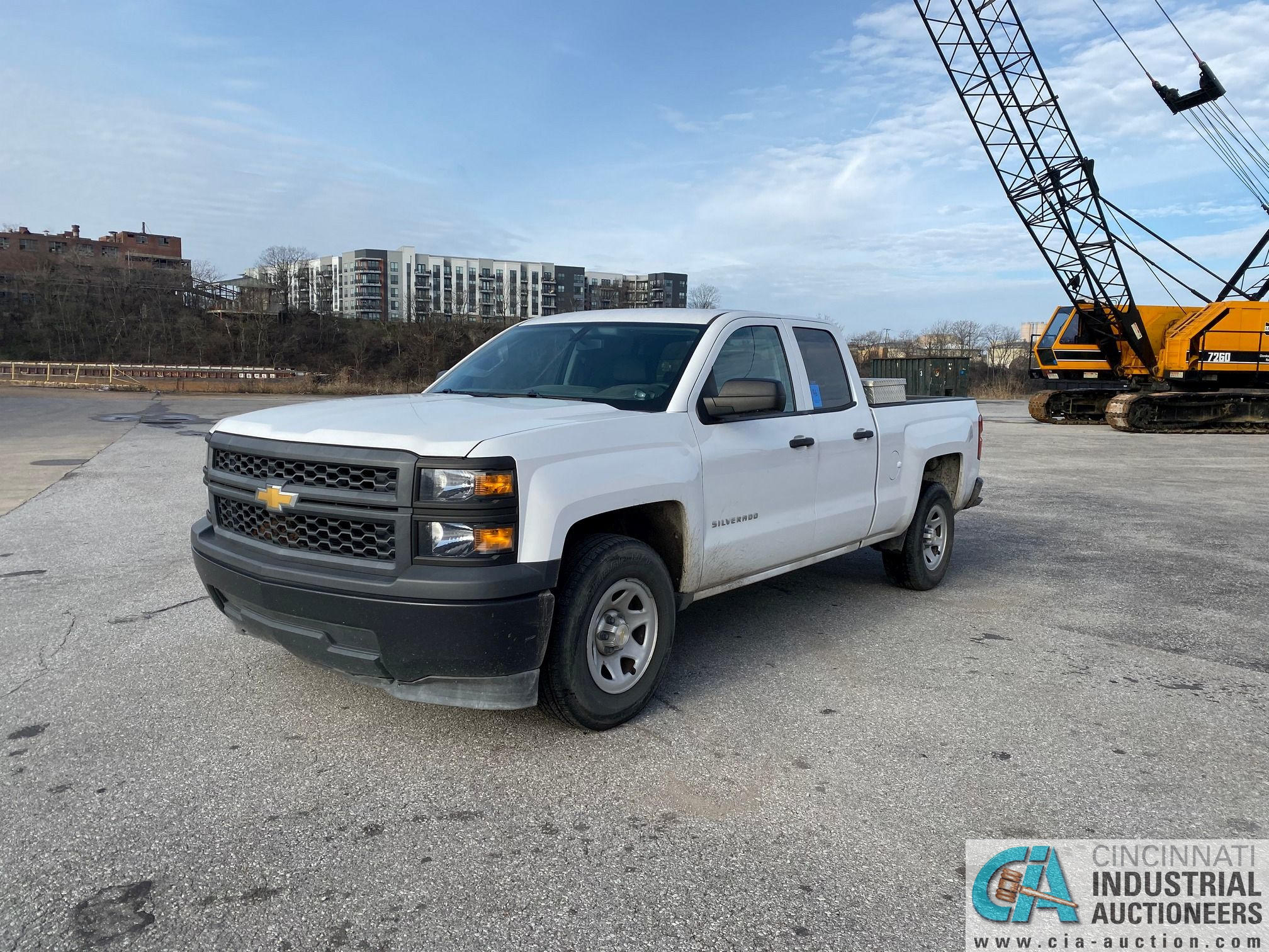 2014 CHEVROLET SILVERADO 1500 PICK UP TRUCK; VIN# 1GCRCPEH1EZ239274, 67,252 MILES SHOWING, 4.3 L, - Image 6 of 13